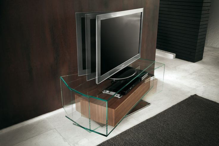 Porada - Aaron swivel TV stand
