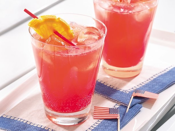 Firecracker Punch #4thofJulyCitrusy Punch, Firecracker Punch, Punch Recipes, Patriots Food, July 4Th, Punch 4Thofjuly, Perfect Drinks, Add Vodka, Patriots Drinks