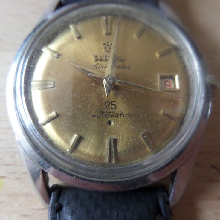 TITONI AIRMASTER 25 Jewel Rotomatic / Automatic - c.1960's Vintage Guaranteed Genuine, Swiss made Gents automatic mechainsim wrist watch by EWcoLondon on Etsy