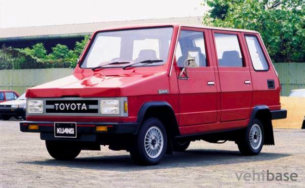This is the 2nd generation of the legendary Indonesian MPV-Toyota Kijang..Memang Tiada Duanya XD