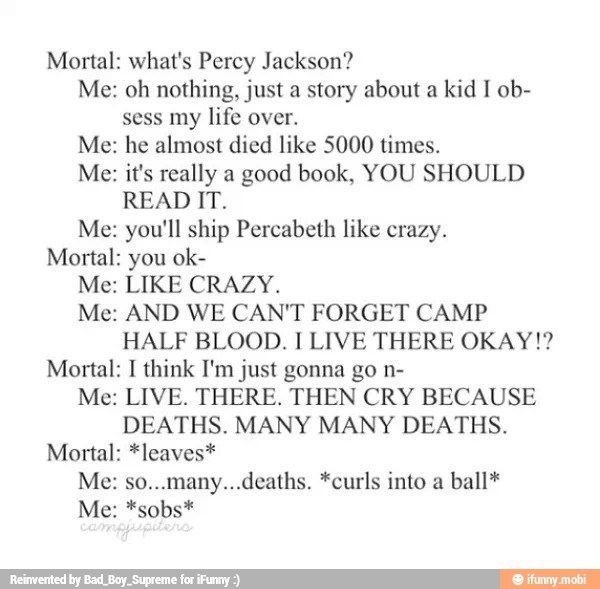 Percy Jackson Obsessions Yup This So Pretty Much How It