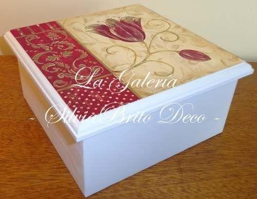 Caja De Te Mas De 300 Diseños Con O Sin Visor De Vidrio - $ 98,00