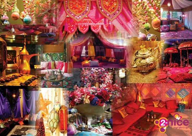 www.2-nice.nl, Event Decoration, Impression Marrakech Arabian Thema