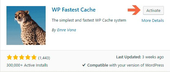 WP Fastest Cache | Leverage Browser Caching WordPress Plugin