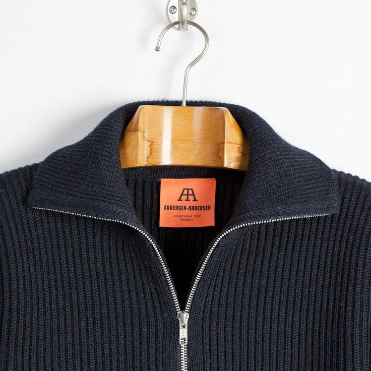 NAVY - Full-zip - Indigo | Andersen-Andersen