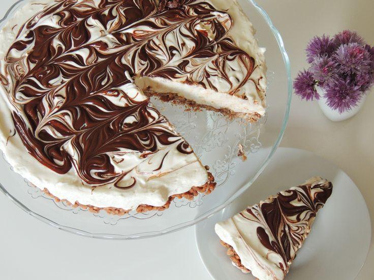 Cheesecake caffè e cioccolato http://blog.giallozafferano.it/vdolci/cheesecake-caffe-e-cioccolato/