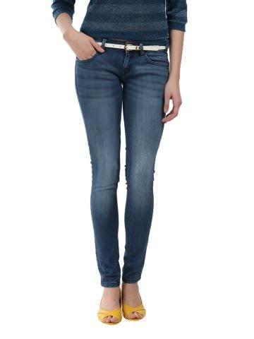 35% Off on Lee women blue pearl jeans