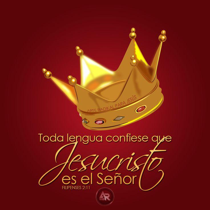 Filipenses 2:11 y toda lengua confiese que Jesucristo es el Señor, para gloria de Dios Padre.