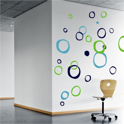 http://www.wallsneedlove.com/retro-rings-wall-decals/