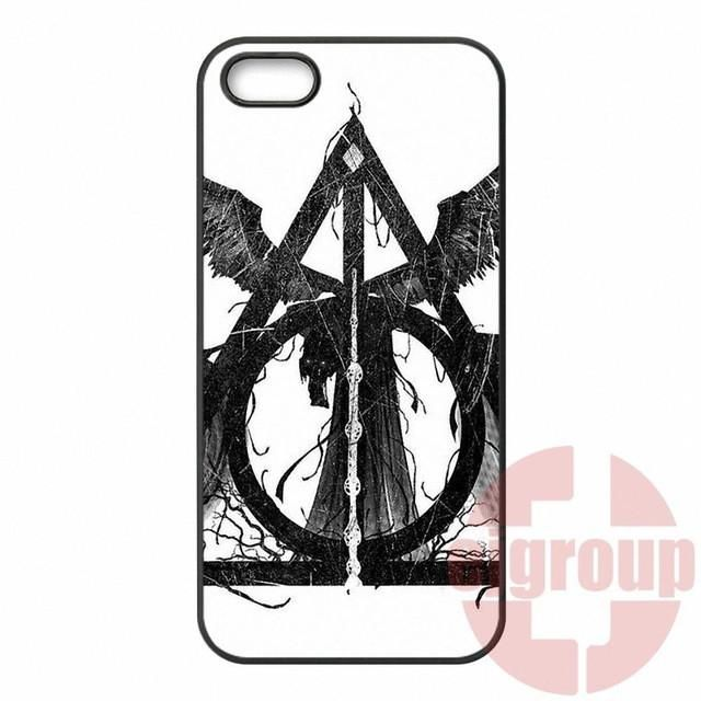 HTC One X S M7 M8 Mini M9 Plus A9 Desire 816 820 826 Cell Phone Case Deathly Hallows (Harry Potter)