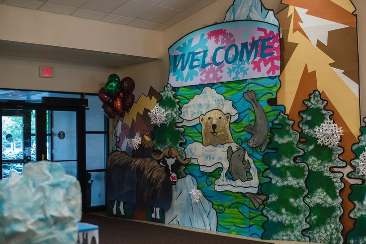 Fun Arctic welcome area for #OperationArctic, #vbs2017