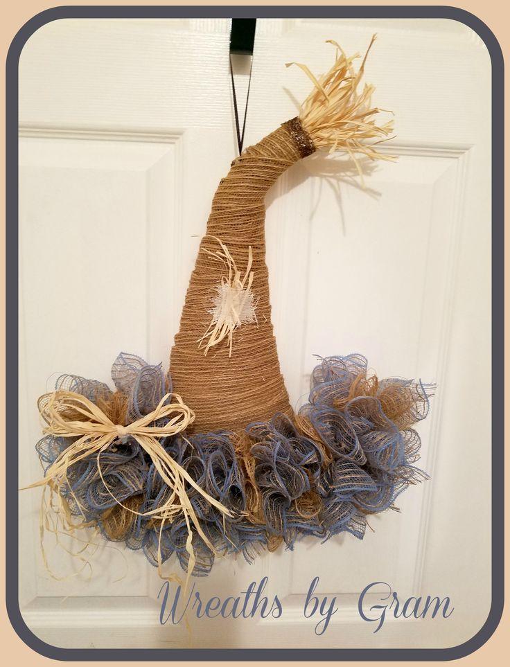 Best 25+ Scarecrow hat ideas on Pinterest | Straw hat ...