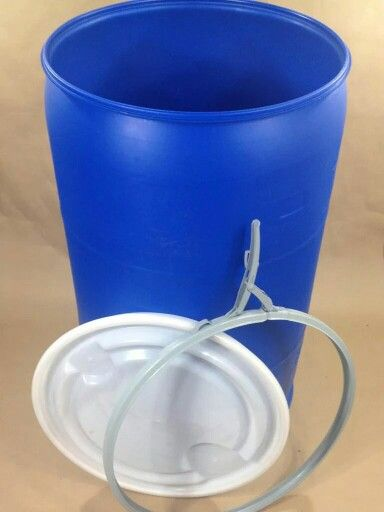 $79.99 each. Online price + shipping. 55 gal open-top plastic drums and barrels for Sale in the U.S. lower 48 states. Call Today, 770-864-4871