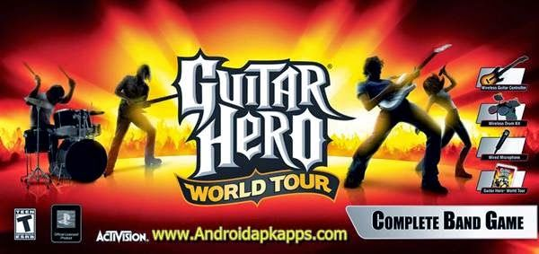 Download Guitar Hero World Tour Full Version + Crack PC | Androidapkapps - Guitar Hero World Tour is the best game simulation, Guitar Hero World Tour delivers more ways to play than ever before. Download too : Download Clover Paint v1.22.44 Full Apk.
