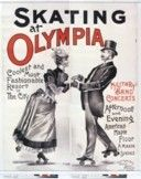Europeana skating  Skating at Olympia, coolest and most fashionable resort in the city, Military band concerts, Afternoon and evening... : [affiche] / [Non identifié]