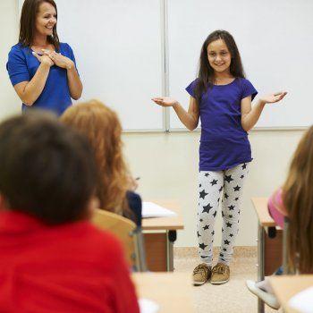 Trucos para enseñar a hablar a los niños en público.
