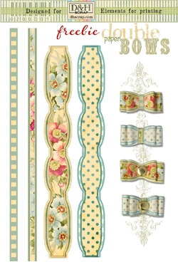 pretty freebie double bows: Paperbow, Paper Bows, Bows Printable, Double Bows, Freebies Cardidea, Ideas Crafts, Freebies Printable, Paper Crafts, Freebies Joyful2Bh