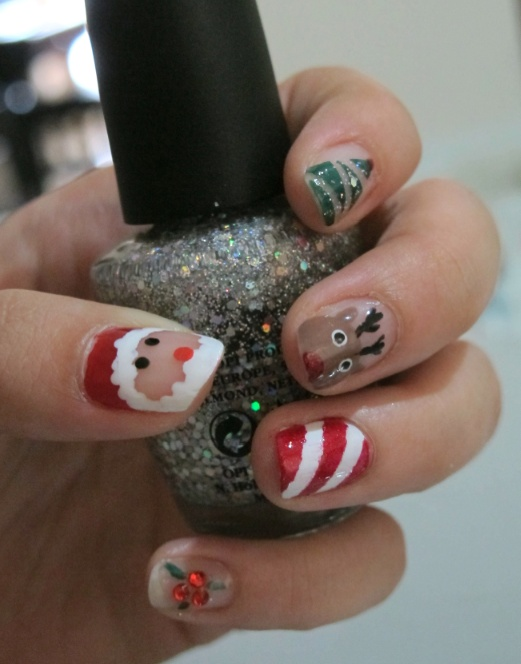 OPI Nails for Christmas... Get creative, get festive!