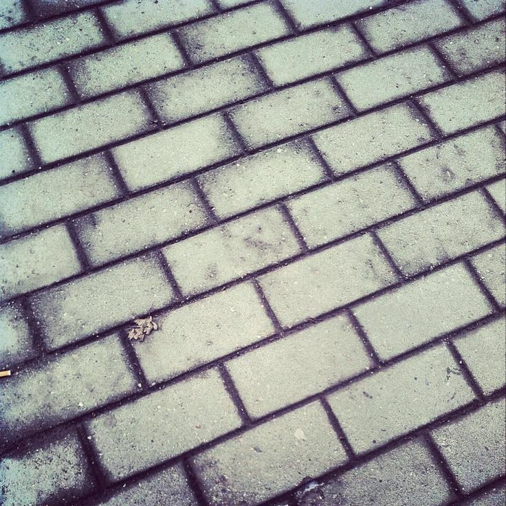 Tiles on the ground | instArt - Unusual Instagram pictures