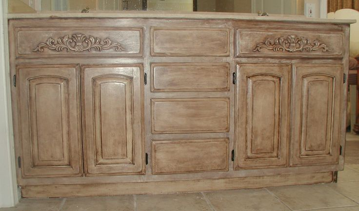 Project Transforming Builder Grade Cabinets To Old World