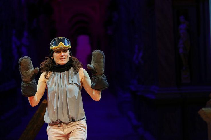 Chiara Montanari on the stage  #TEDxVicenza #PlantingTheSeeds #TEDx #Vicenza