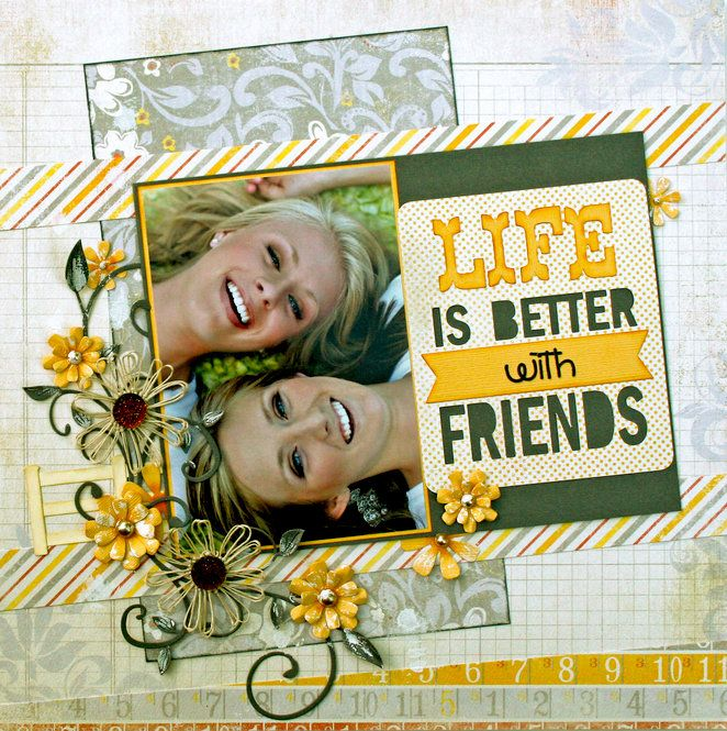 Best 25 friend scrapbook ideas on pinterest scrap books best scrapbooking layout pronofoot35fo Image collections