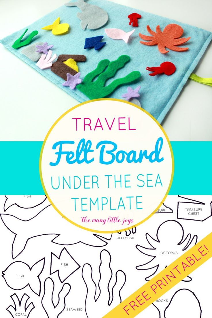 Felt craft book - If You Re Traveling With Kids This Travel Felt Board Is A Quick Diy