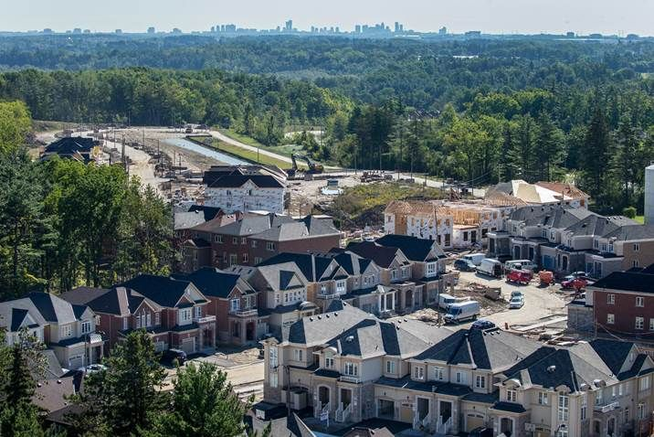 Construction continues at Enclaves of Upper Canada