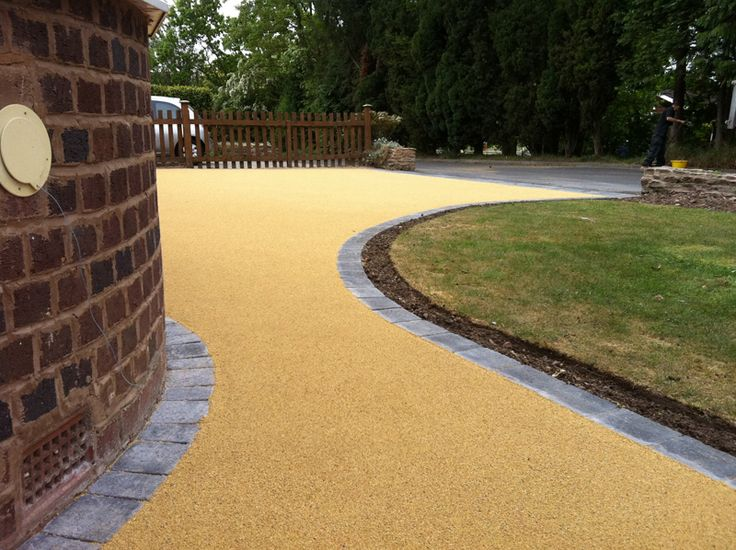 37 best Front drive images on Pinterest | Resin driveway, Driveway ...