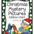 Students will be actively engaged as they solve number sentences to discover the holiday mystery pictures on an addition chart.  Included are two d...