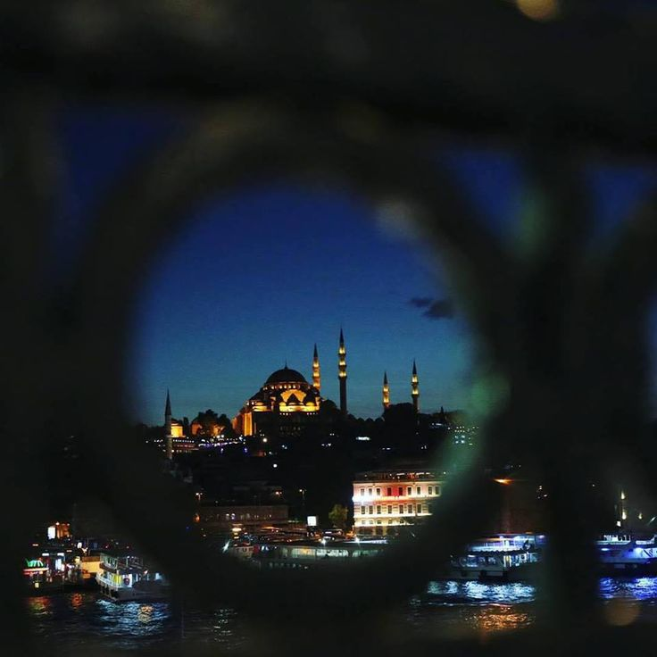 While the days in Istanbul offer wonderful views, the nights are no less spectacular!