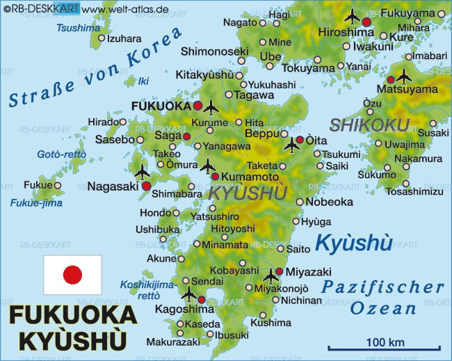 14 best japan maps images on pinterest japan japan maps and cards map of fukuoka kyushu japan map in the atlas of the world world atlas gumiabroncs Gallery