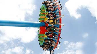 Cliff's Amusement Park ~ The New Mexico Rattler ~ Best Roller Coasters