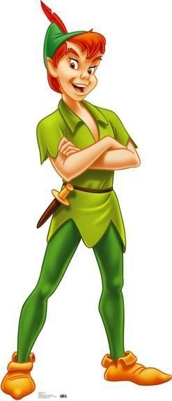 Me encanta Peter Pan veo todo lo que se refiera a el