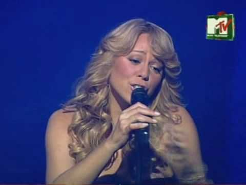 Mariah Carey -  Can't Live If Living Is Without You .. Live! ....  I've never really given Mariah a good listen to...this song is so amazingly beautiful....brought tears and shivers!