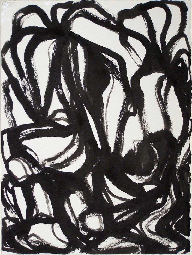 Ron Shuebrook, Untitled A, Ink on Paper, 11x15 inches