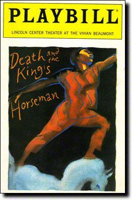 8 best death and the kings horseman images on pinterest yoruba the playbill for wole soyinkas death and the kings horseman a play based off fandeluxe Images