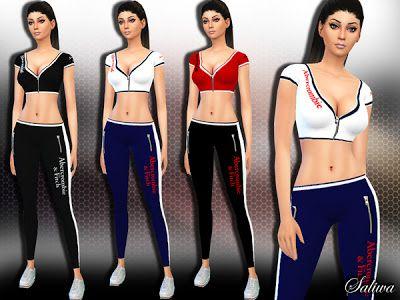 The Sims 4 by Kasia: Strój do fitnessu