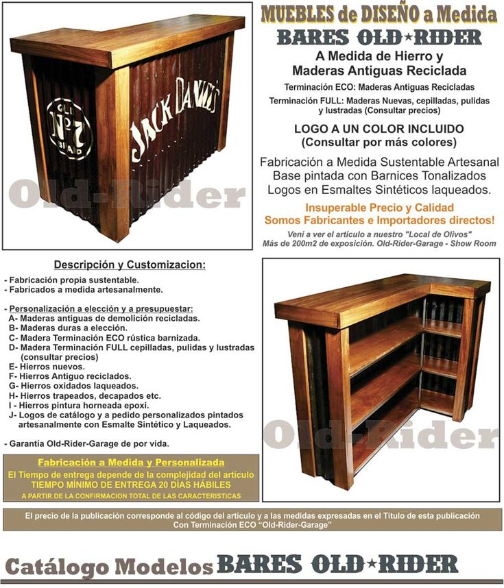 M s de 1000 ideas sobre barra bar en pinterest bar bar for Bar de madera y fierro
