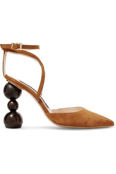 c956415e736 JACQUEMUS CAMIL SUEDE PUMPS.  jacquemus  shoes