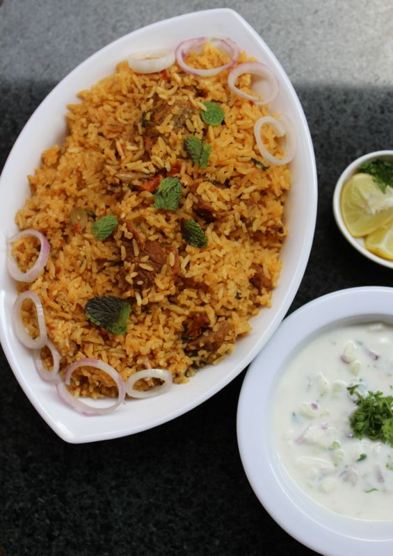 Ambur mutton biryani is a rice dish or  rice biryani from a town called ambur in vellore district of tamil nadu. #rice #food #recipes #dinnerideas #lunchideas #maindishes