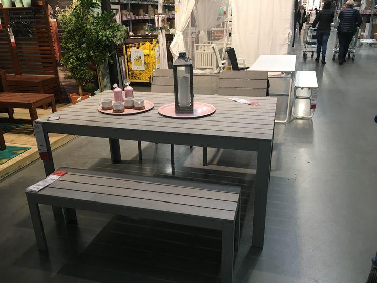 Bord og benk