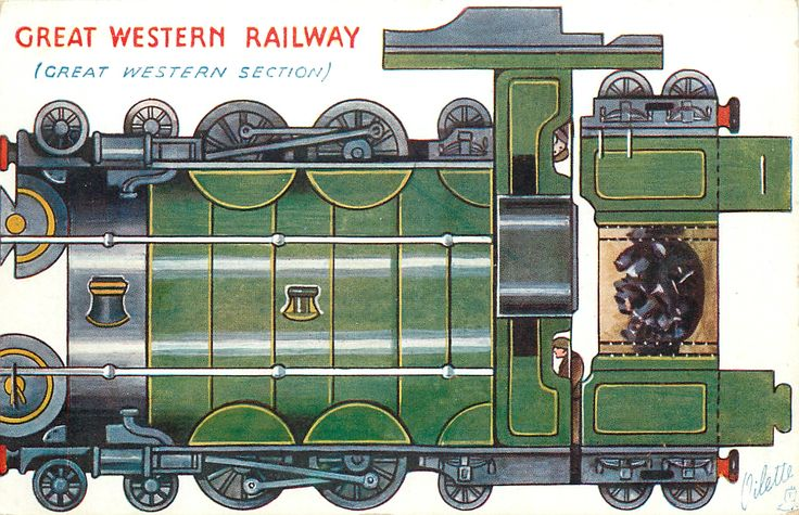 GREAT WESTERN RAILWAY (GREAT WESTERN SECTION)