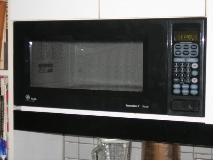 Depiction of Space Saver Microwave for Compact and Functional Kitchen Ideas
