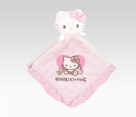 Hello Kitty Baby Security Blanket: Baby Flower