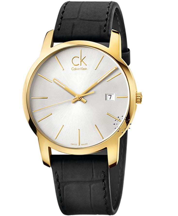 Calvin KLEIN City Black Leather Strap Τιμή: 246€ http://www.oroloi.gr/product_info.php?products_id=36136