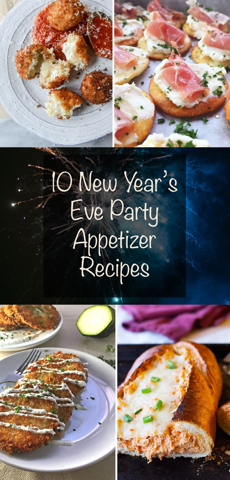 10 New Year S Eve Party Appetizer Recipes Seasonly On The Blog