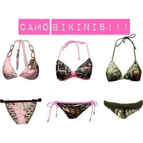Camo bikinis