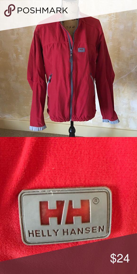 Men's Helly Hansen Utility Jacket Men's Helly Hansen Red Utility Jacket. Interface. Size Large Helly Hansen Jackets & Coats Performance Jackets