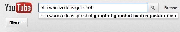Hahahahahahahahaha  All I wanna do is gunshot gunshot gunshot cash register noise.